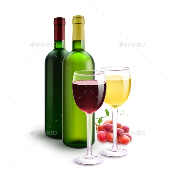 GraphicRiver Red and White Wines 11199216