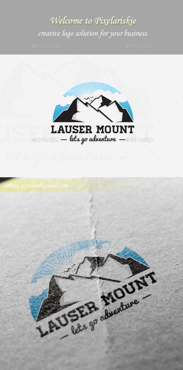 GraphicRiver Mountain Logo 11199245