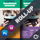 Charity Roll-Up Templates - GraphicRiver Item for Sale