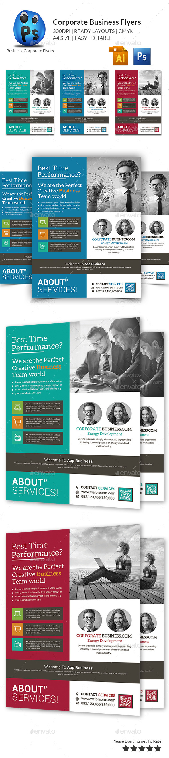 GraphicRiver Corporate Business Flyer Template 11200453