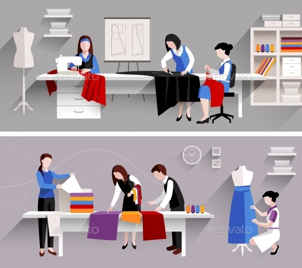 GraphicRiver Sewing Studio Design Template 11200688
