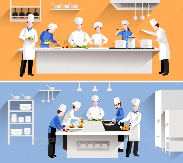 GraphicRiver Cooking Process Illustration 11200690
