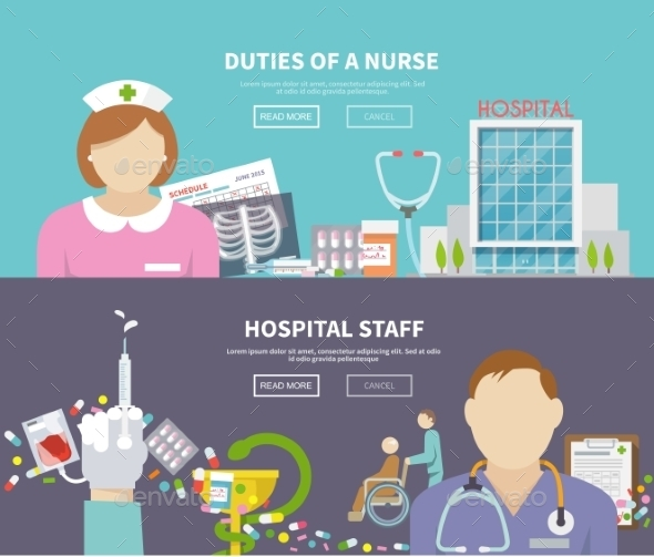 GraphicRiver Nurse Banner Set 11200720