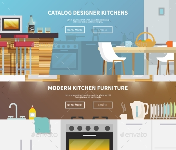 GraphicRiver Kitchen Furniture Banner 11200749