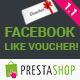 Prestashop Facebook Like Voucher - CodeCanyon Item for Sale