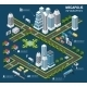 Isometric City Concept - GraphicRiver Item for Sale