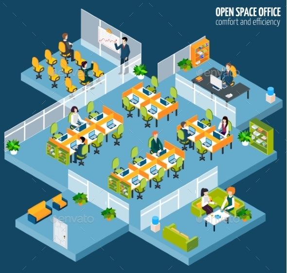 GraphicRiver Open Space Office 11201253