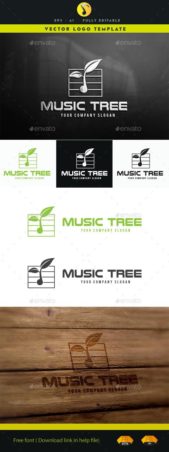 GraphicRiver Music Tree 11201359