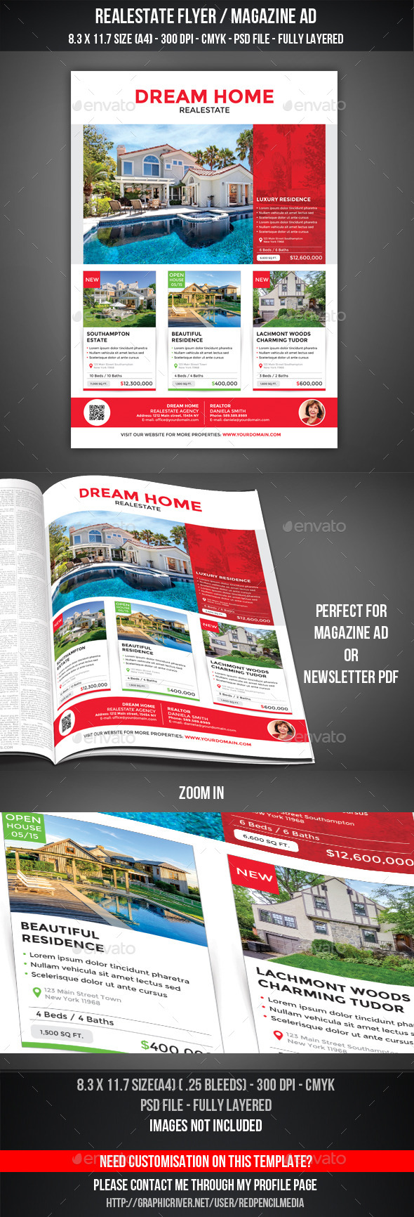 GraphicRiver Realestate Flyer Magazine AD 11201481