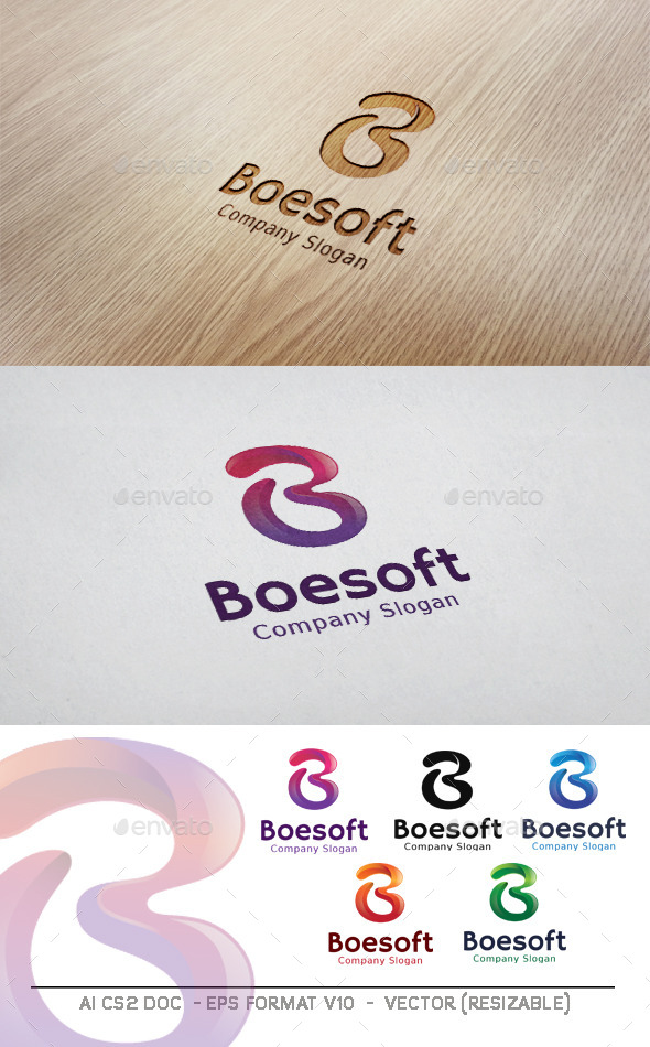 GraphicRiver Boesoft B Letter Logo 11201536