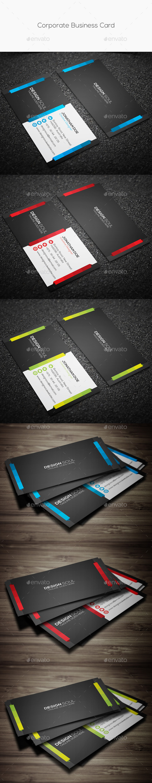 GraphicRiver Corporate Business Card 11201564