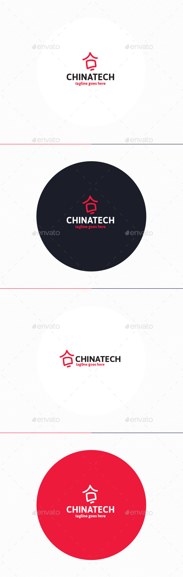 GraphicRiver China Tech Logo 11201601