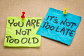 You are not too old - PhotoDune Item for Sale