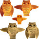 Vector Set Decorative Owls - GraphicRiver Item for Sale