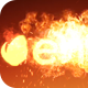 Molten Fire Logo - VideoHive Item for Sale