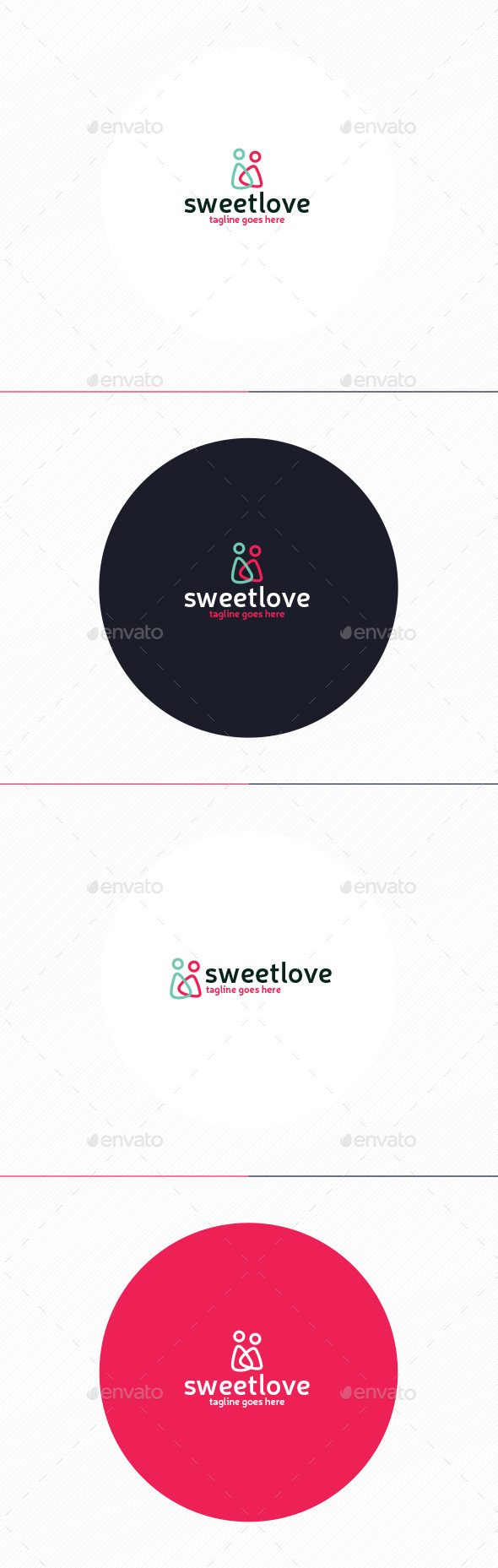 GraphicRiver Sweet Love Logo 11202104