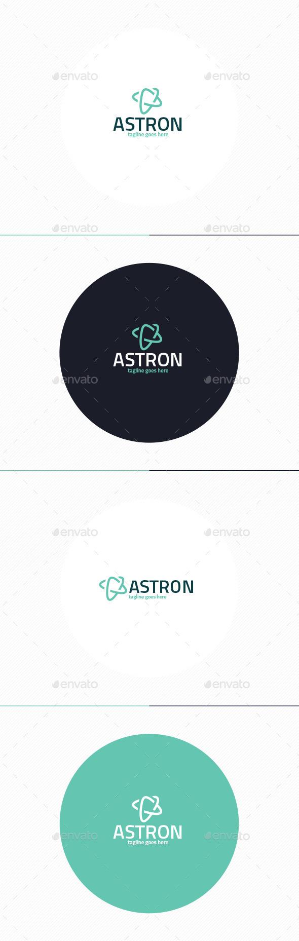 GraphicRiver Astron Logo 11202292