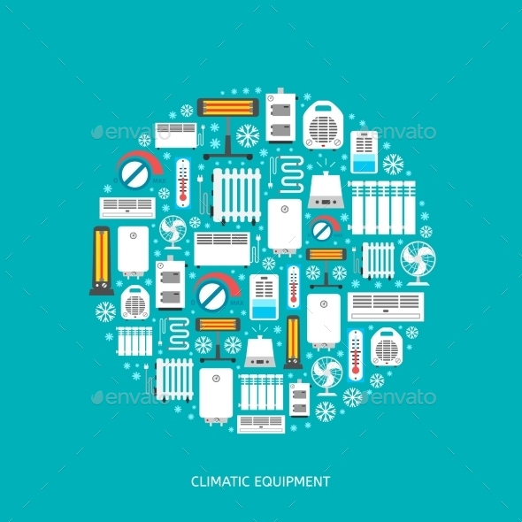 GraphicRiver Climatic Equipment 11202413