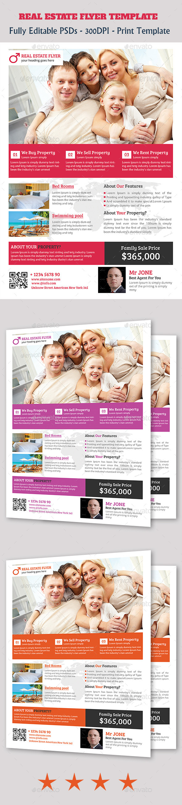 GraphicRiver Premium Real Estate Flyer Temp 11202535