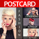 Fashion Agency Postcard - GraphicRiver Item for Sale