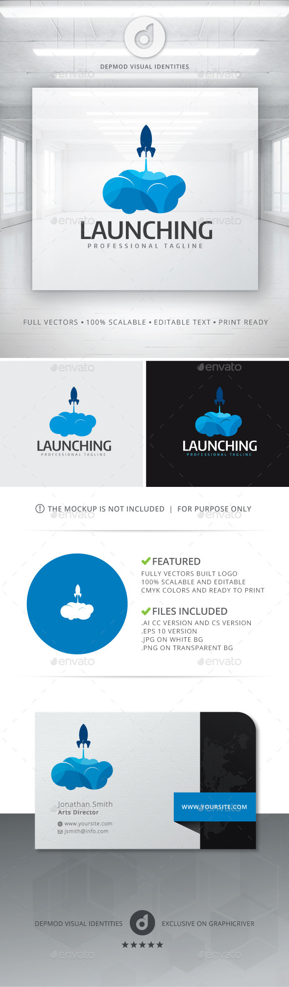 GraphicRiver Launching Logo 11202684