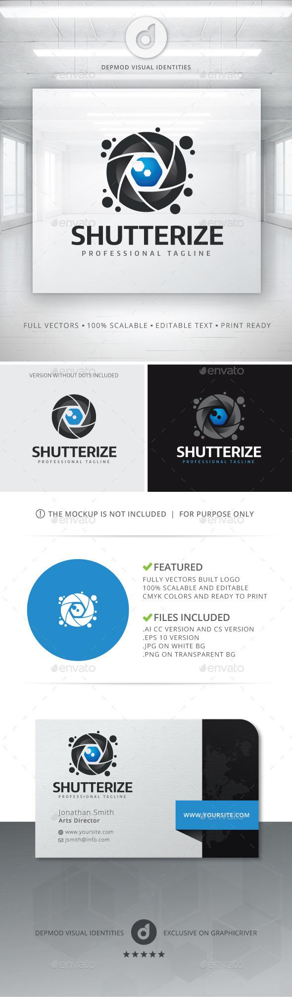 GraphicRiver Shutterize Logo 11202695