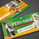 Pet Shop Gift Voucher - GraphicRiver Item for Sale