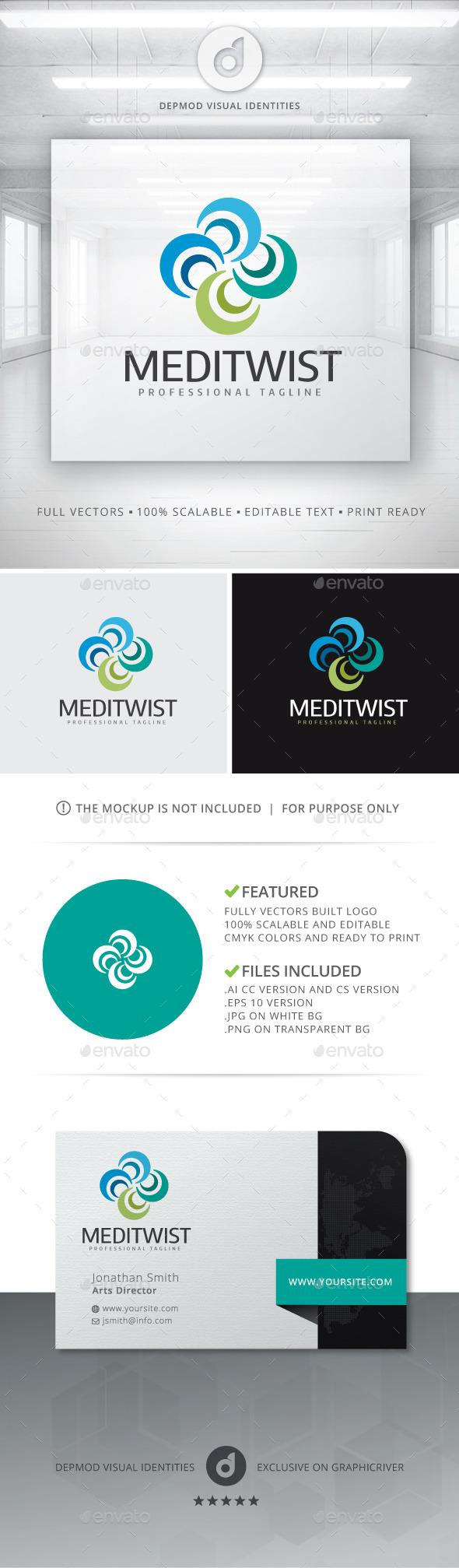 GraphicRiver MediTwist Logo 11202724