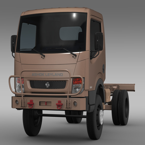Ashok Leyland Garuda Chassi 2015 - 3DOcean Item for Sale