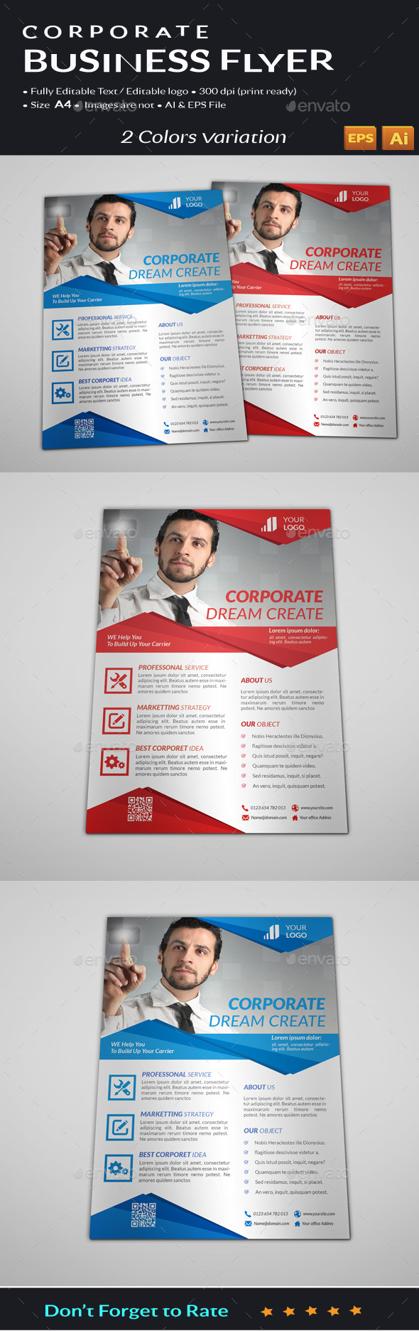 GraphicRiver Corporate Business Flyer 11202931