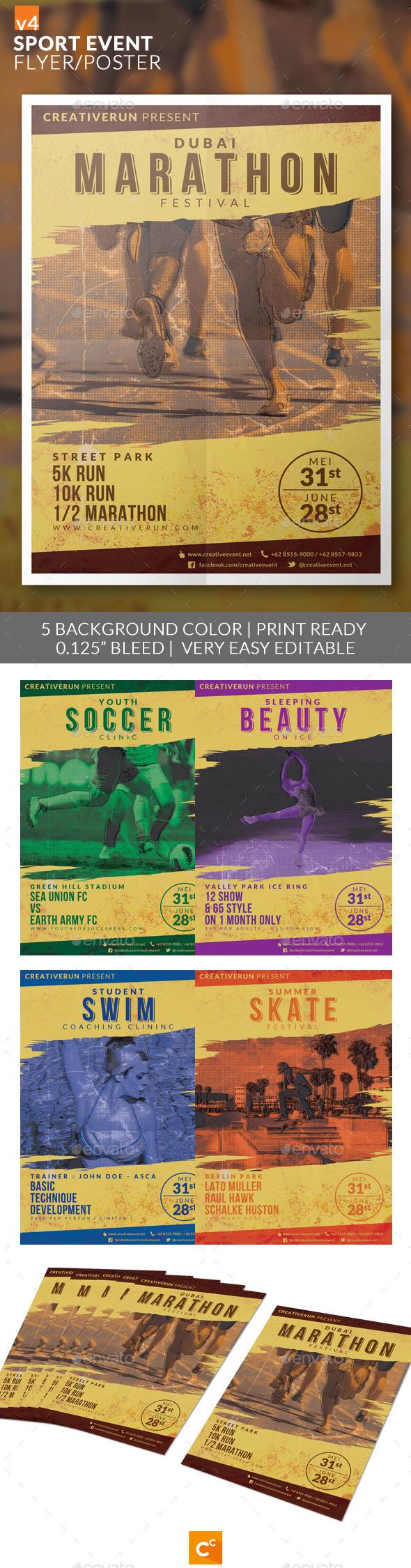 GraphicRiver Sport Event Flyer Poster v4 11202959