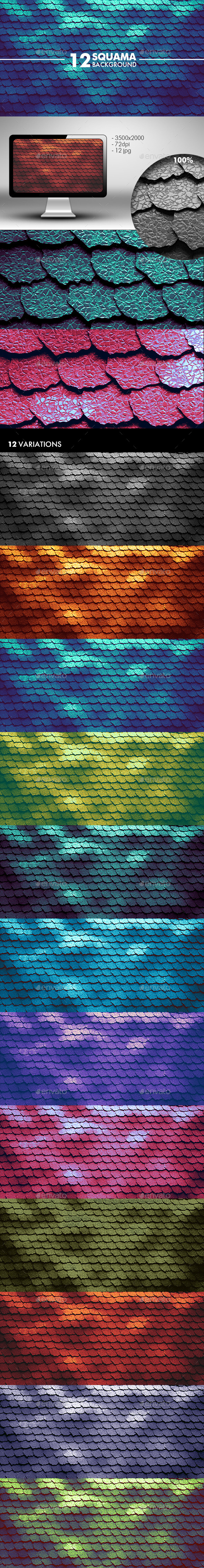 GraphicRiver Squama Background 11202969