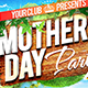 Mother`s Day Flyer Facebook cover template