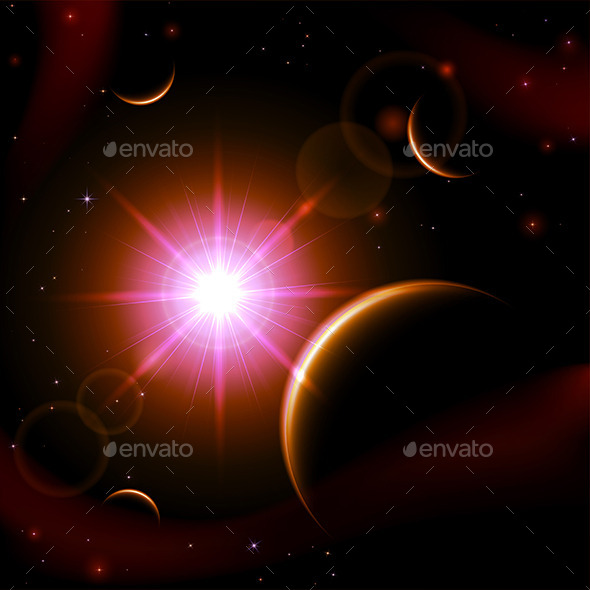 GraphicRiver Eclipse Background 11203382
