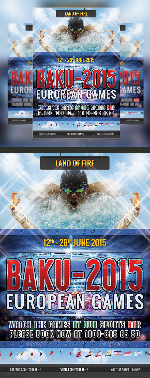GraphicRiver European Games 11130066
