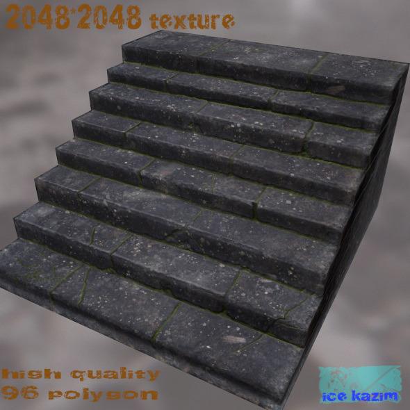 3DOcean stairs 11203570