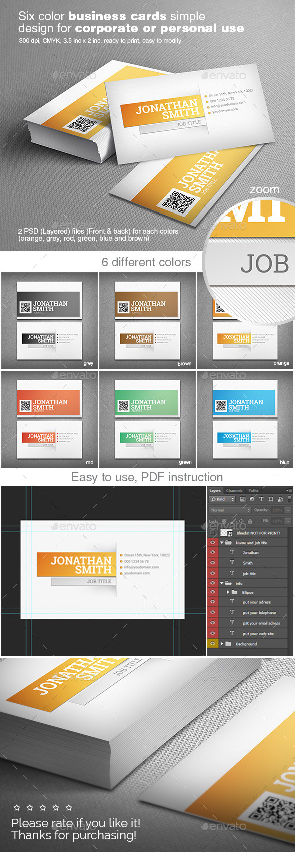 GraphicRiver Simple and Clean Business Card 11203664