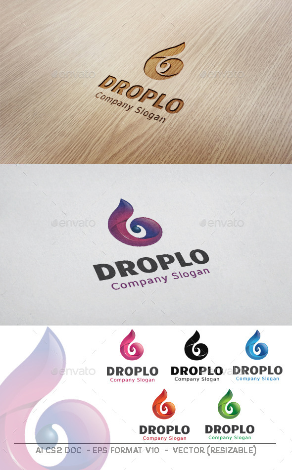 GraphicRiver Droplo Logo 11203670