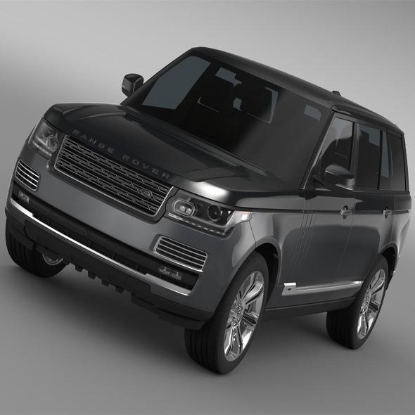 3DOcean Range Rover SVAutobiography L405 2016 11203817