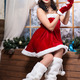 Woman wearing like Santa`s helper - PhotoDune Item for Sale