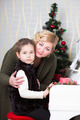 Portrait of woman with a little girl - PhotoDune Item for Sale