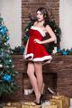 Sexy leggy brunette - PhotoDune Item for Sale