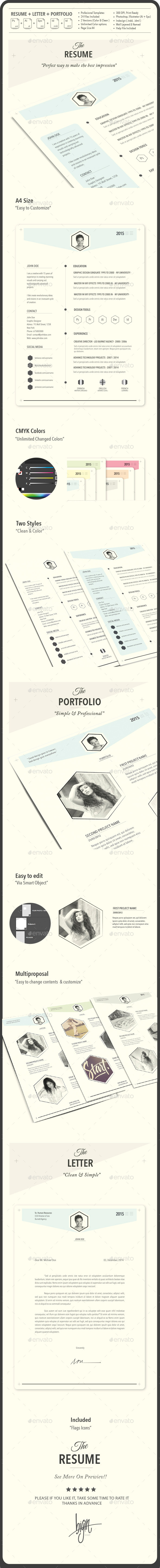 GraphicRiver The Resume 9839375
