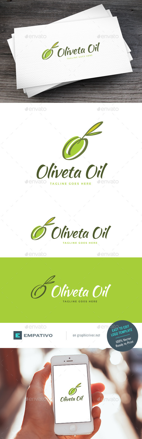 GraphicRiver Oliveta Oil Logo Template 11204452