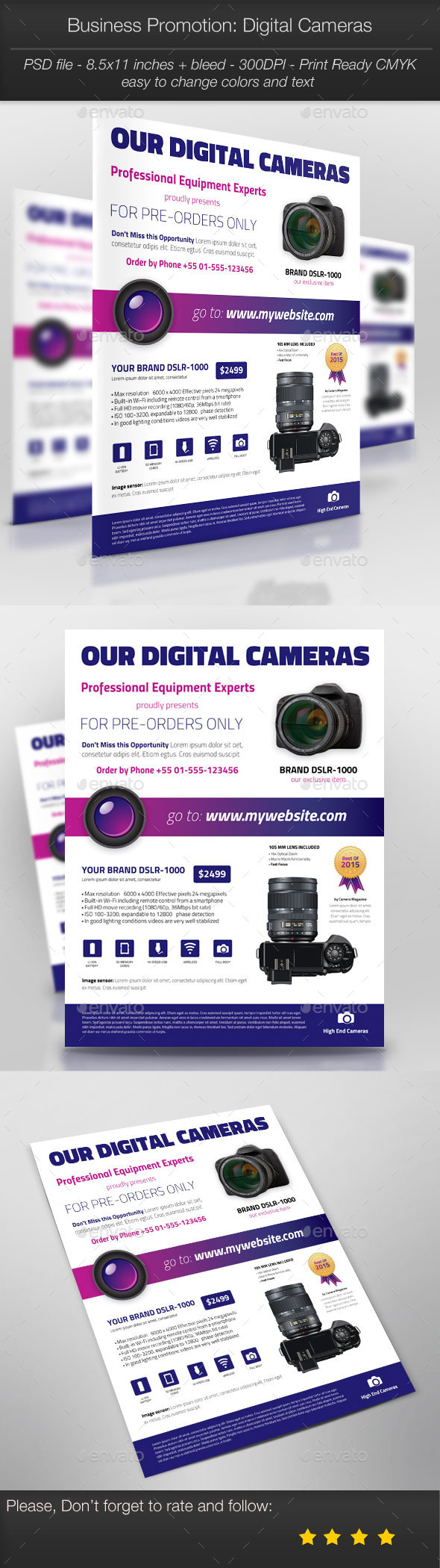 GraphicRiver Business Promotion Digital Cameras 11204455