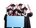 happy graduates student show billboard - PhotoDune Item for Sale