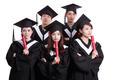 group of graduates student think - PhotoDune Item for Sale