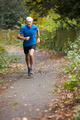 Mature Male Jogger Running Along Path - PhotoDune Item for Sale