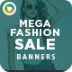 Mega Fashion Sale Banners - GraphicRiver Item for Sale