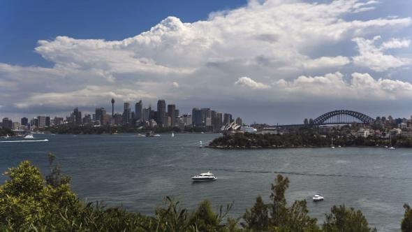 VideoHive Sydney Harbour CBD and Harbour Bridge 11206032